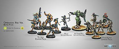 Infinity Corvus Belli Operation Red Veil miniatures new