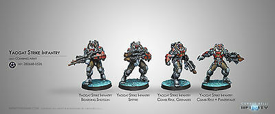 Infinity Corvus Belli Yaogat Strike Infantry Combined Army new