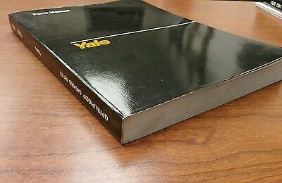 Yale Fork Lift Truck Parts Manual GP/GLP/GDP 040-060 RF/TF (1552)