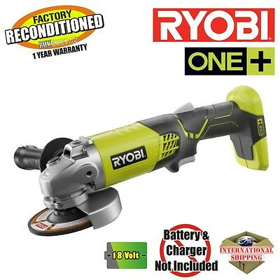 Ryobi P421 ONE+ 18-Volt 4-1/2 in. Angle Grinder (Tool Only) ZRP421 Reconditioned
