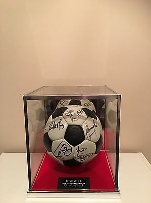 Liverpool Fc Rome 1981 European Cup Winners Signed Ball Exceptionally Rare Item