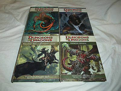 Dungeons & Dragons Monster Manual 1 2 Heroes of Shadow Forgotten Realms Guide