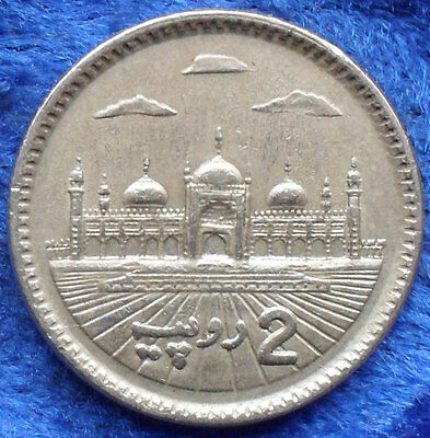 PAKISTAN - 2 rupees 2006 KM# 64 Decimal Coinage (1961) - Edelweiss Coins