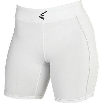 Easton Womens M7 Fastpitch Softball Sliding Shorts A164907 White, Black