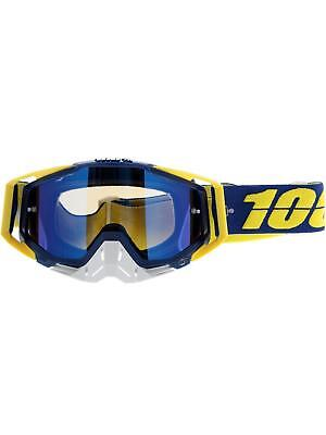 100 Percent Lindstrom-Mirror Blue 2015 Racecraft MX Goggle