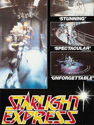 """Starlight Express 16"""" x 12"""" Reproduction Poster Photograph 2"""