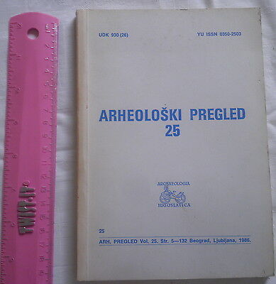 Yugoslavia Archeology BOOK 1986,prehistoric ancient antique medieval History