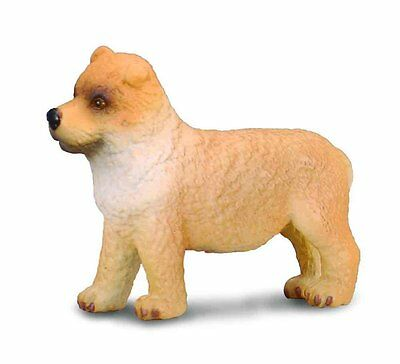 Small Chow Chow Puppy Figure