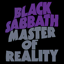 "New Music Record Black Sabbath ""Master Of Reality"" LP"