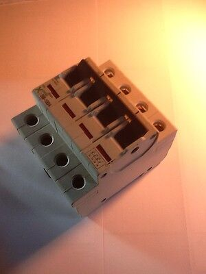 Moeller X Pole Sm-100/4  4 Pole 100Amp Mains Incomer Isolator Switch