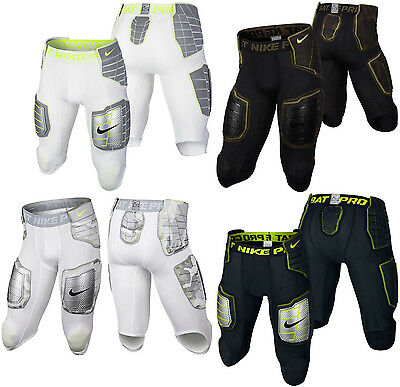 New Nike Pro Combat Hyperstrong 3.0 Compression Hard-Plate 3/4 Football Shorts