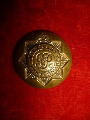 "The Army Veterinary Service George V WW1 Officer Button, 1"" dia., Jennens Maker"