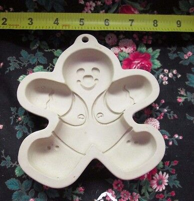 Wilton Gingerbread Man Cookie Art Mold - 1997