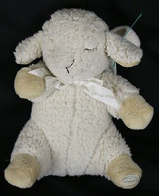 Cloud B Sleep Sheep Stroller Car Seat Attachment baby Infant Soother Plush Toy