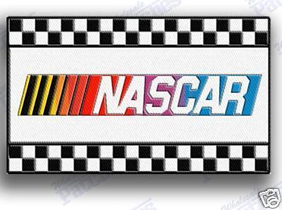 nascar racing  iron on embroidery patch patches DAYTONA 500 CHECKERED FLAG PIT