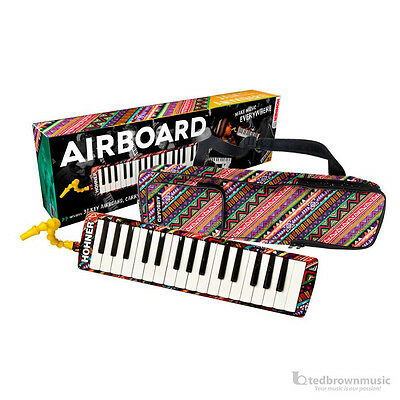 Hohner Melodica Airboard with Carry Bag - Choose 32 Note, 37 Note or Kids Size