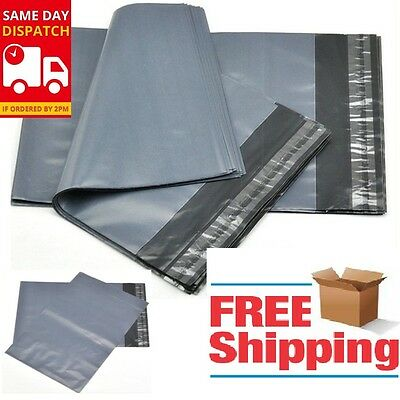 Strong Poly Grey Mailing Postage Postal Self Seal Good Quality Bags All Sizes
