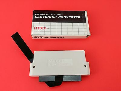 NES Converter NTDE 60 Pin to 72 (NEW) To Play Famicom Games into a NES