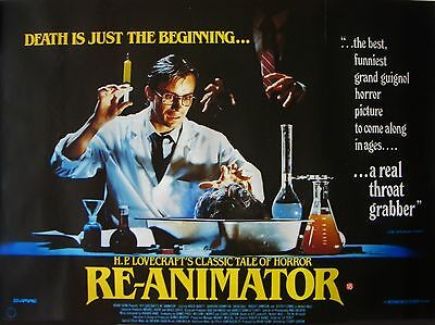 """Reanimator 16"""" x 12"""" Reproduction Movie Poster Photograph"""