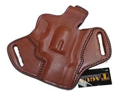 "Smith & Wesson Revolver S&W 686 2.5"" Brown Leather Holster Right Tagua"