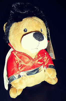 Elvis Presley ELVIS BEAR Musical singing/ dancing Plush Toy (9 INCHES)