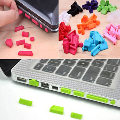 26X Protective Ports Cover Silicone Anti-Dust Plugs Stoppers for Laptop Notebook