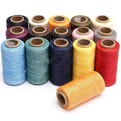 260M 150D 1MM Leather Sewing Waxed Wax Thread Hand DIY Stitching Cord Craft