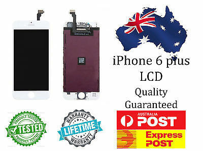 NEW ~ iPhone 6 plus LCD Touch Screen Replacement ~ WHITE or BLACK ~ TESTED