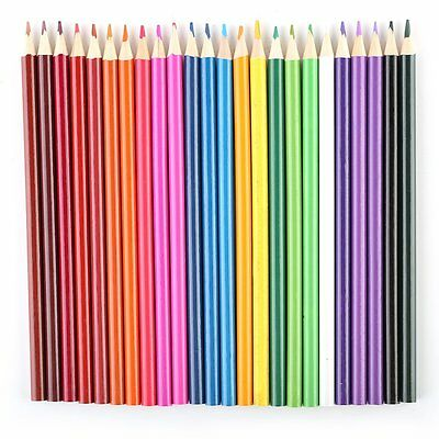 24 Colors Perfect Art Drawing Graffiti Oil Base Sketch Pencils for Artist New YL