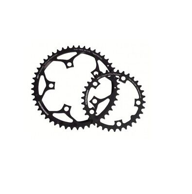 STRONGLIGHT CT2  CERAMIC TEFLON  BLACK 110BCD mm SHIMANO COMPACT CHAINRING   52T