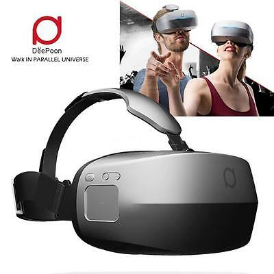 DeePoon M2 All-in-one Virtual Reality Headset 3D Glasses VR BOX 96° FOV AMOLED