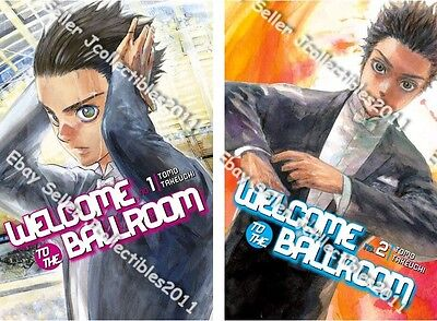 English new Welcome to the Ballroom Vol 1-9 by Tomo Takeuchi Paperback Book