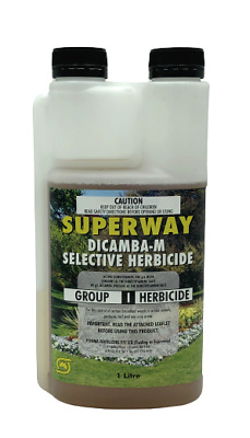 Superway Dicamba-M Selective Herbicide (Dicamba + Mcpa) 1Ltr