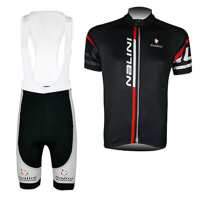 New Mens Team Cycling Jerseys Bib Shorts Kits Riding Shirt Pad Tights Outfits
