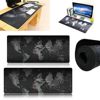 Large Size 900*400 World Map Speed Game Mouse Pad Mat Laptop Gaming Mousepad New