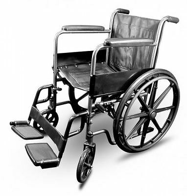 Puncture Proof Self Propel Folding Portable Propelled Wheelchair with Mag Wheels