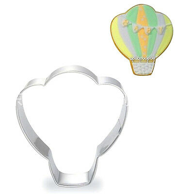 Stainless Steel Cookie Cutter Hot Air Balloon Cake Biscuts Cutter Fondant Mold ♫