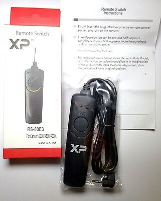 Canon Remote Switch Shutter Cable Release RS-60E3 for EOS Digital Rebel XSi 70D