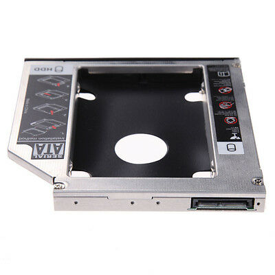 2016 9.5mm Universal Hard Disk Drive To Panel DVD ROM SATA Second Hard Drive Cad