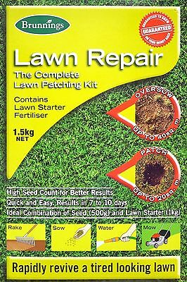 Brunnings Lawn Repair The Complete Lawn Patching Kit 1.5kg