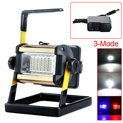 50W 3Modes 36LED Rechargeable Outdoor Camping Waterproof Floodlight Work Light