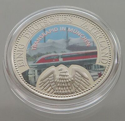 GERMANY PROOF MEDAL MUNCHEN TRANSRAPID 40 MM 33 g  #p2 077