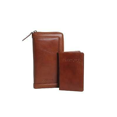 Ashwood Leather Travel Wallet