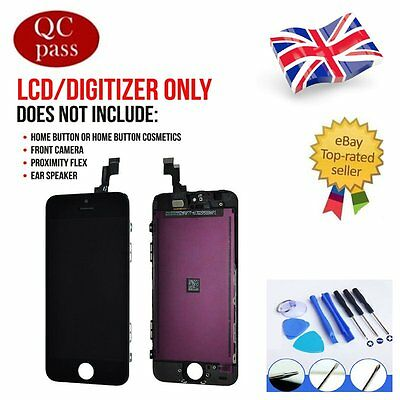 For iPhone 5C Black LCD Touch Screen & Digitizer Display Assembly Replacement UK