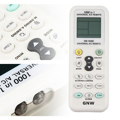 New Universal LCD A/C Control Remote Controller LCD Screen For Air Conditioner