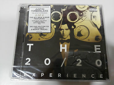 Justin Timberlake The 20/20 Experience 2 X Cd Deluxe Edition New Sealed Nuevo