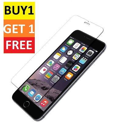 100% Genuine Tempered Glass Film Screen Protector For Apple Iphone 6 Plus - New*