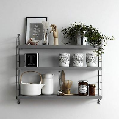 String Pocket Shelf Shelving Unit Danish Storage Shelves - VARIOUS COLOURS