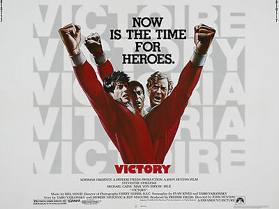 """Escape to Victory 1981 16"""" x 12"""" Reproduction Movie Poster Photograph"""