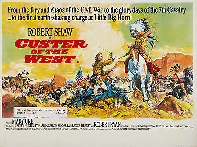"""Custer of the West 1967 16"""" x 12"""" Reproduction Movie Poster Photograph"""